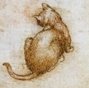 A Da Vinci Cat. Doubtless skilled in codes.
