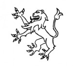 A Lion Rampant, from the Earl of Southampton's coat of arms.