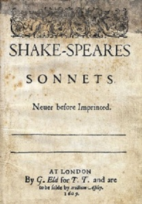 Sonnets Title Page public domain Wikimedia Commons