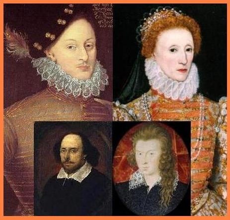 The Usual Suspects: Oxford, Queen Elizabeth, Shakespeare, and Southampton.
