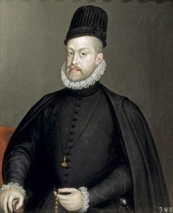 Philip II of Spain, by Sofonisba Anguissola c.1532-1625