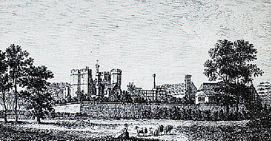 Place House (now known as Titchfield Abbey). From an 18th century illustration.