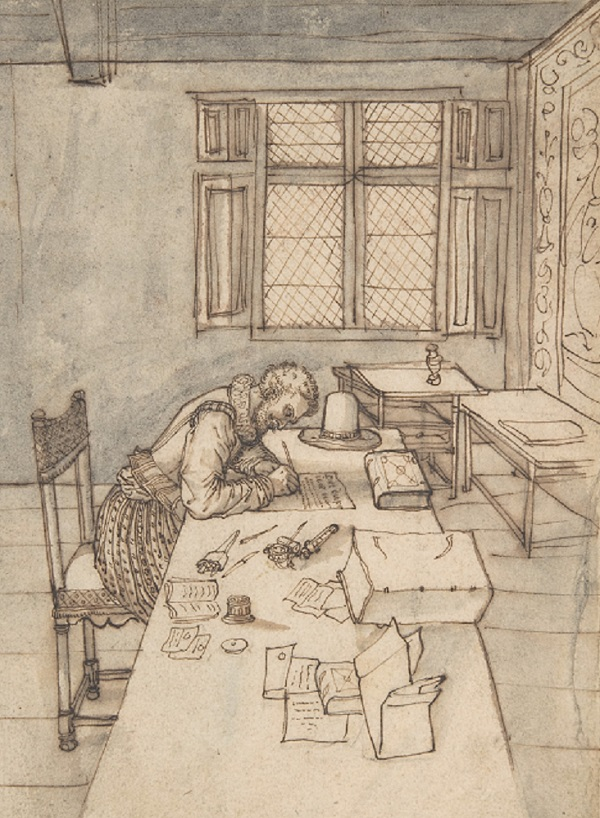 A drawing from 16th century France, by an anonymous artist. Held in the Metropolitan Museum of Art.