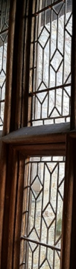 16th century window panes.