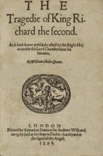 Richard II Title Page